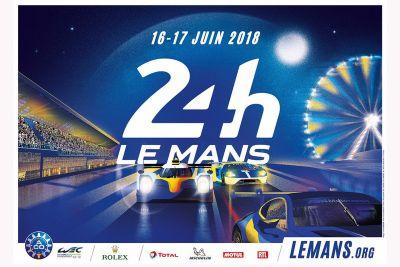 Poster 24 Ore di Le Mans 2018