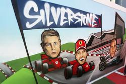 Silverstone painting