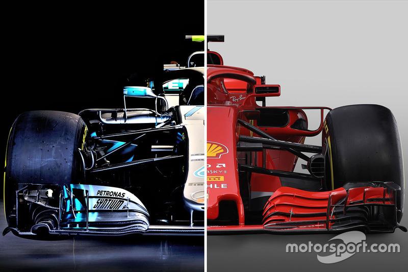 Comparaison entre Mercedes et Ferrari