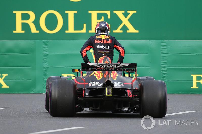 Race retiree Daniel Ricciardo, Red Bull Racing RB14