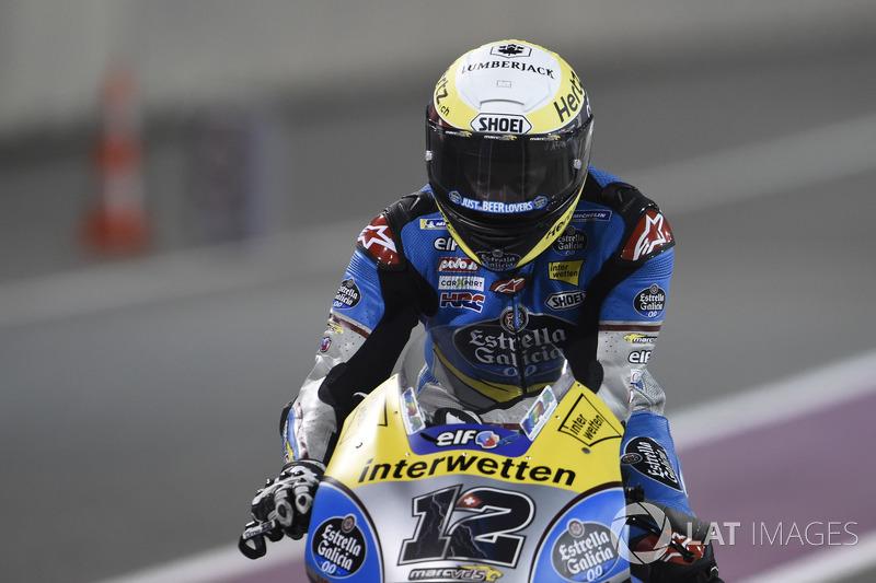 MotoGP Bildergalerie : Das Debüt von Thomas Lüthi in der MotoGP in Doha