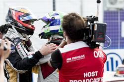 Jean-Eric Vergne, Techeetah, avec Lucas di Grassi, Audi Sport ABT Schaeffler