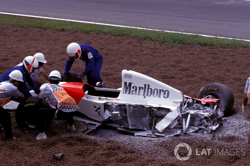 Michael Andretti, McLaren Ford MP4/8