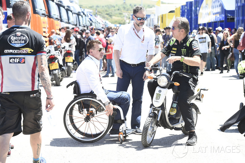 Hervé Poncharal, director del equipo Monster Yamaha Tech 3