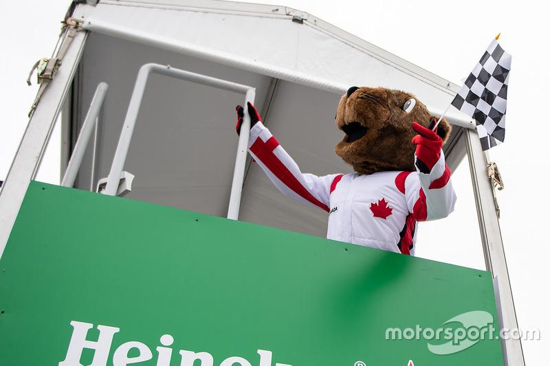 Vroum, the Canadian Grand Prix mascot