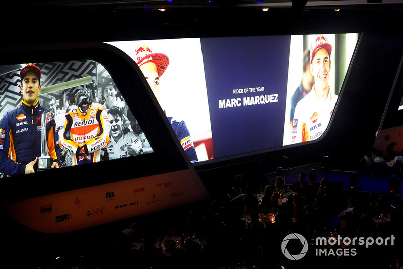 "Marc Marquez accetta in video il ""Rider of the Year award"""