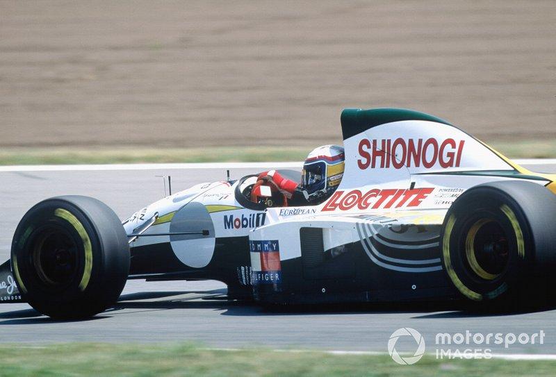Alessandro Zanardi, Lotus 107C Mugen Honda