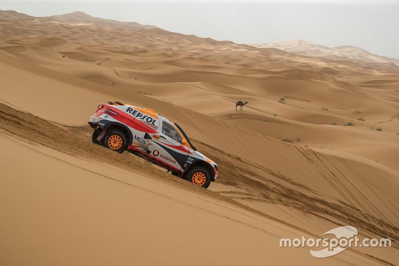 Isidre Esteve y Txema Villalobos, Repsol Rally Team