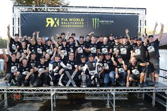 Johan Kristoffersson, PSRX Volkswagen Sweden, Petter Solberg, PSRX Volkswagen Sweden