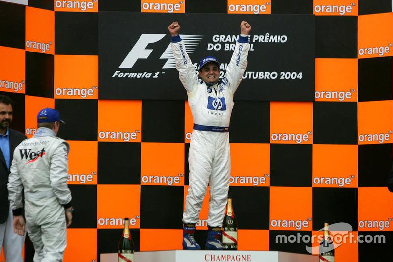 2004: Última victoria de Montoya con Williams