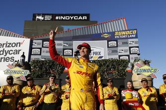 Ryan Hunter-Reay, Andretti Autosport Honda, sul podio