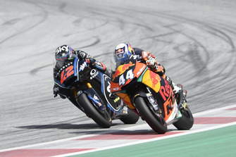 Miguel Oliveira, Red Bull KTM Ajo, Francesco Bagnaia, Sky Racing Team VR46