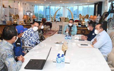Pertemuan Galang Hendra-Bambang Soesatyo