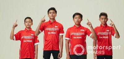 Peluncuran Astra Honda Racing Team