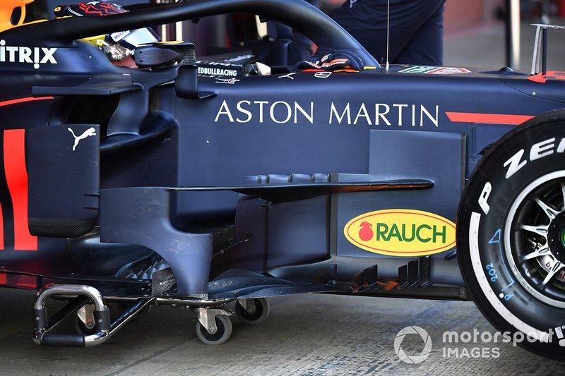 Бічні дефлектори Red Bull RB15
