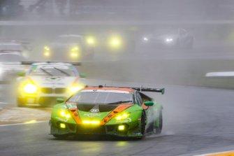 #11 GRT Grasser Racing Team Lamborghini Huracan GT3, GTD: Mirko Bortolotti, Christian Engelhart, Rik Breukers, Rolf Ineichen