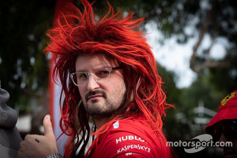 Un fan de Ferrari