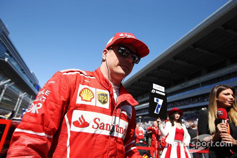 Kimi Raikkonen, Ferrari: 3º