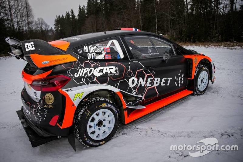 El Ford Fiesta RS WRC Plus de Mads Ostberg y Ola Floene