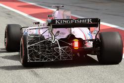 Esteban Ocon, Sahara Force India F1 VJM10 with aero sensor