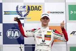 Rookie Podium: 1. Mick Schumacher, Prema Powerteam, Dallara F317 – Mercedes-Benz