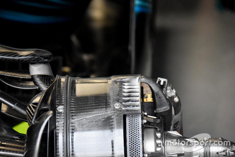 Mercedes F1 W08: Bremse
