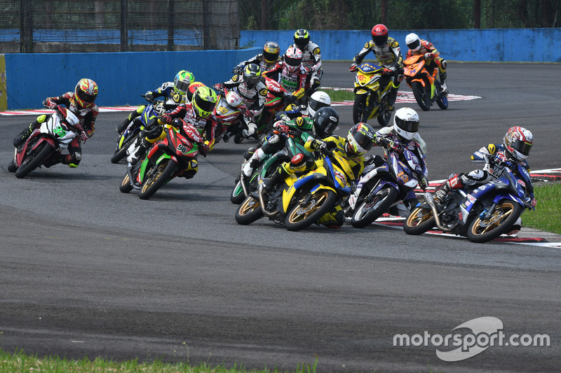 Race 1 Underbone 150cc di ARRC Indonesia 2017