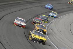 Daniel Suarez, Joe Gibbs Racing Toyota, Matt Kenseth, Joe Gibbs Racing Toyota, Clint Bowyer, Stewart-Haas Racing Ford