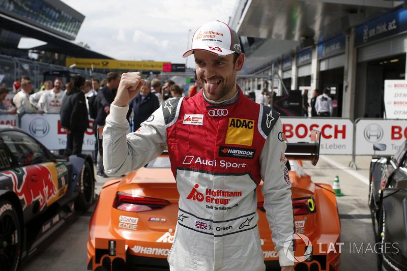 Pole de Jamie Green, Audi Sport Team Rosberg, Audi RS 5 DTM