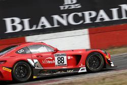 #88 Akka ASP Mercedes AMG GT3: Фелікс Серралес, Даніель Хункаделья