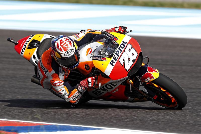 Sturz: Dani Pedrosa, Repsol Honda Team