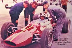 Georges Gachnang, Maserati, Scuderia Cegga, Formula 1, Championnat de Suisse, Monza, 1965
