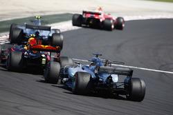 Кімі Райкконен, Ferrari SF70H, Валттері Боттас, Mercedes AMG F1 W08, Макс Ферстаппен, Red Bull Racing RB13, Льюіс Хемілтон, Mercedes AMG F1 W08