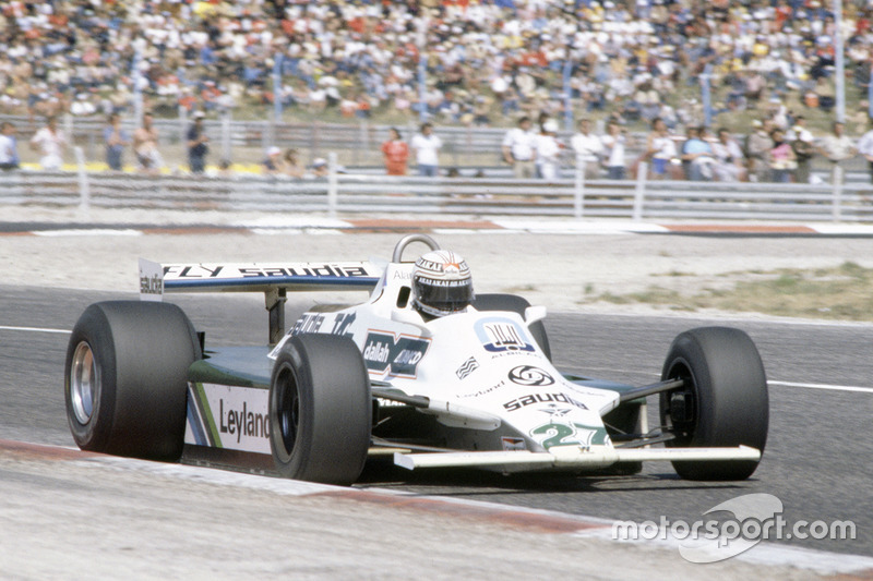 Alan Jones, Williams FW07B Ford Cosworth