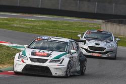 #120 SICL.com, Seat Leon Cup Racer: Gavin Spencer, Ashley Woodman, Frank Pettitt, Carey Lewis