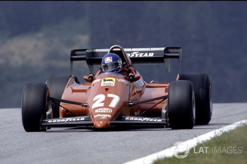 18º Patrick Tambay, Ferrari 126C3, Kyalami 1983. Tiempo: 1:06.554