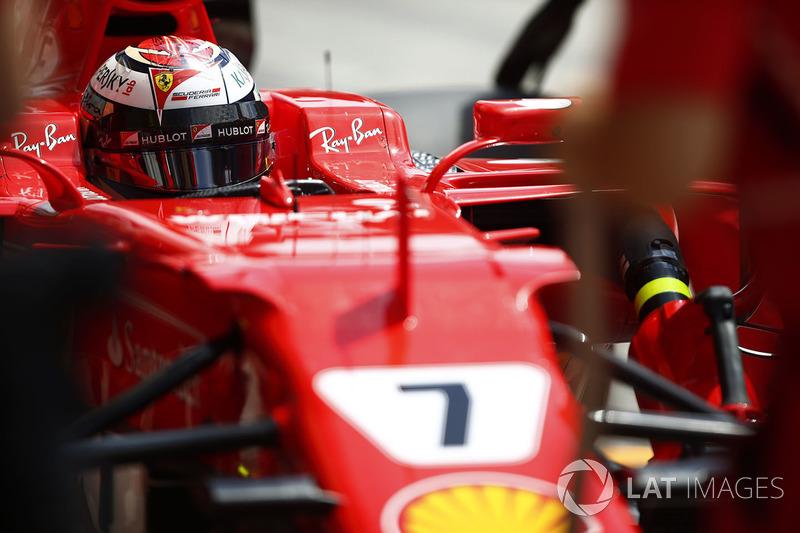 Кімі Райкконен, Ferrari, зупинка для піт-стопу