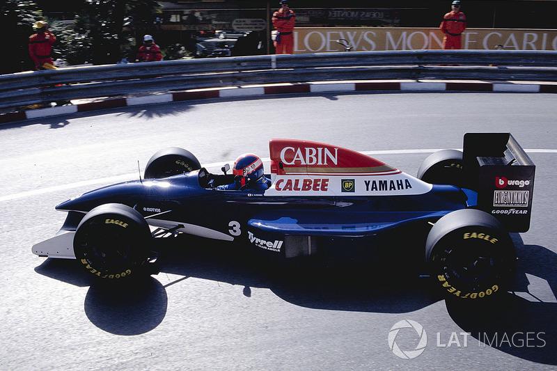 6. Ukyo Katayama, 95 GPs (1992-1997), o melhor resultado é o 5° lugar no Brasil 1994 e San Marino 1994.