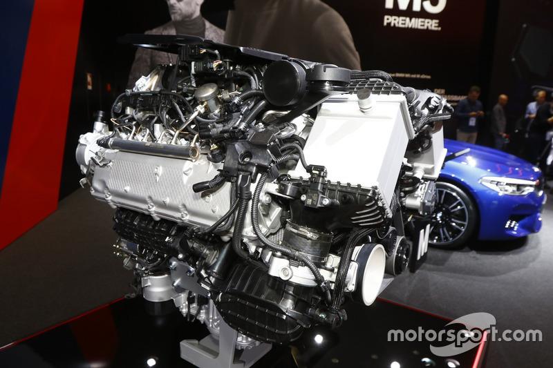 Motor vom BMW M5