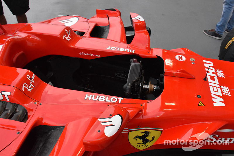 Ferrari SF70H, Cockpit, Detail