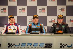 Press Conference: Dorian Boccolacci, Trident, Alessio Lorandi, Jenzer Motorsport, Niko Kari, Arden International