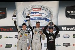 PC winners Garett Grist, Tomy Drissi, John Falb, BAR1 Motorsports