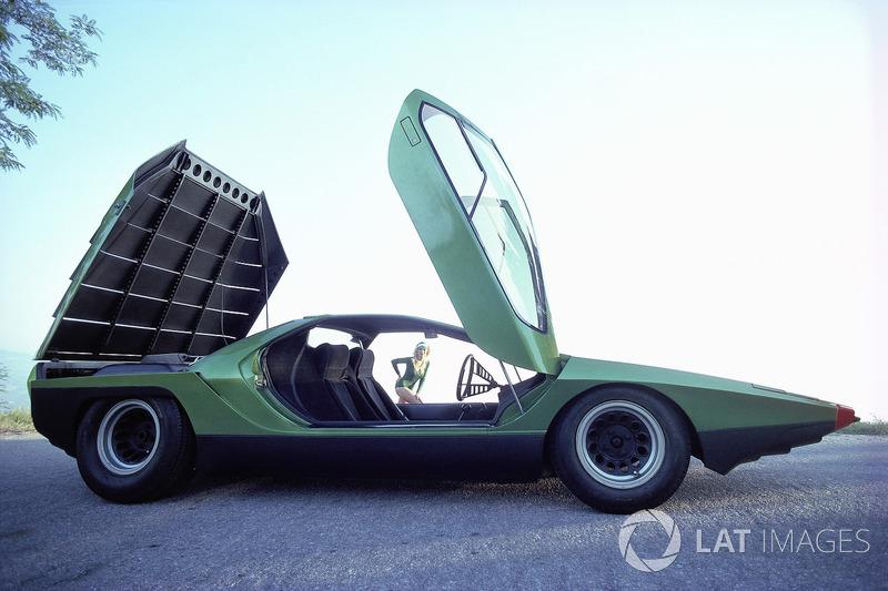 Bertone Carabo Based On Alfa Romeo 33 Stradale At Rainer