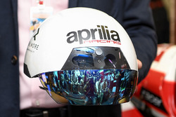AR Helmet for mechanics of Aprilia Racing Team Gresini