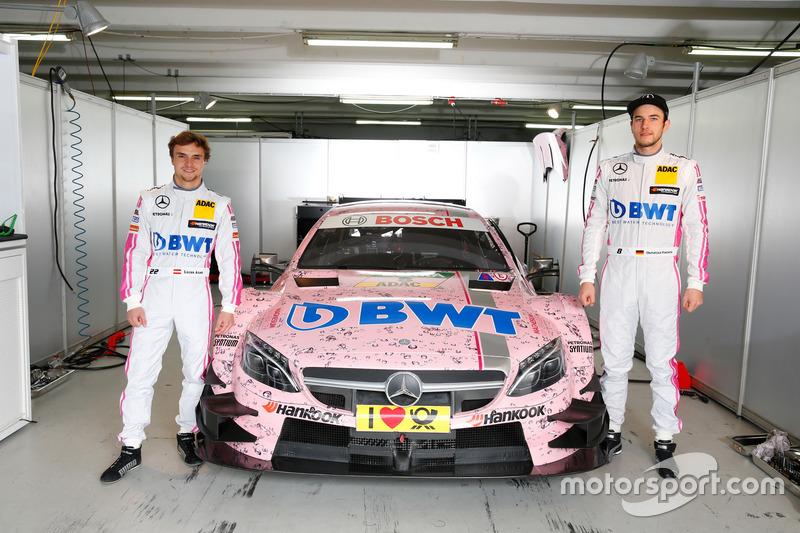 Lucas Auer and Christian Vietoris,  Mercedes-AMG Team Mücke