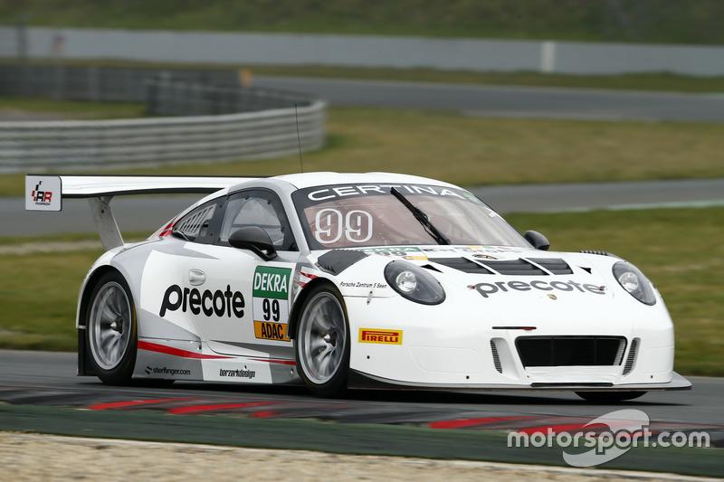 Vierter Verfolger: Herberth-Porsche #99