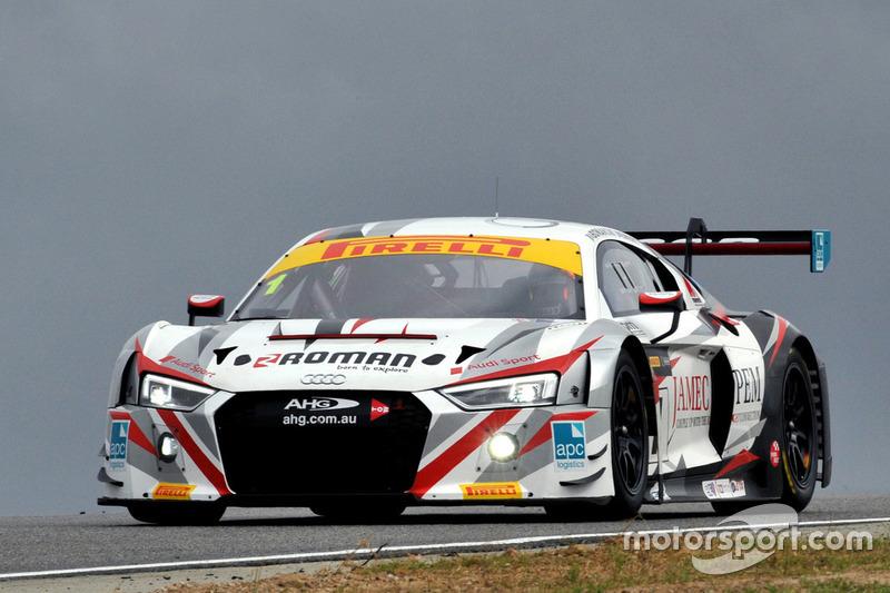 #1 JAMEC PEM, Audi R8 LMS: Marco Bonanomi, Geoff Emery
