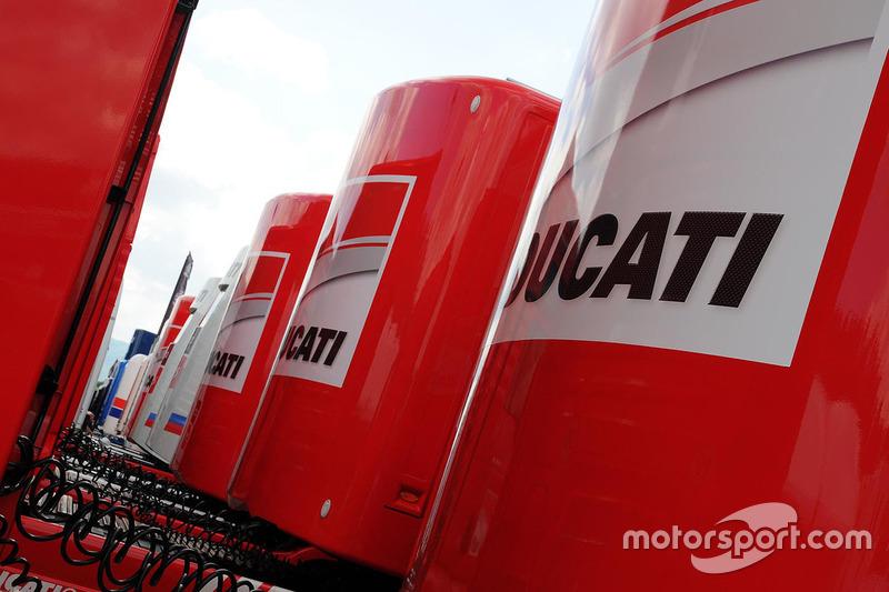 Ducati Team, Motorhome