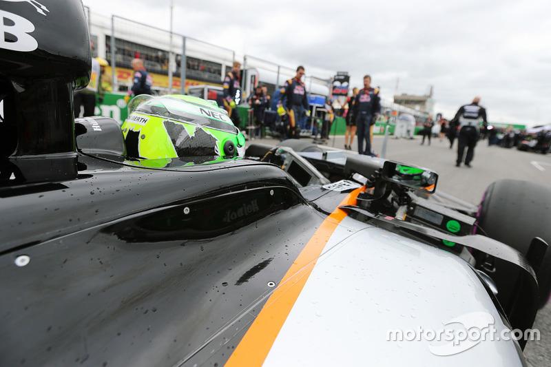 Ніко Хюлькенберг, Sahara Force India F1 VJM09 на стартовій решітці