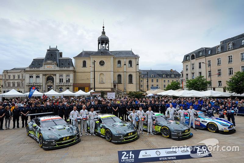 #95 Aston Martin Racing Aston Martin Vantage: Нікі Тім, Марко Соренсен, Даррен Тьорнер, #97 Aston Ma